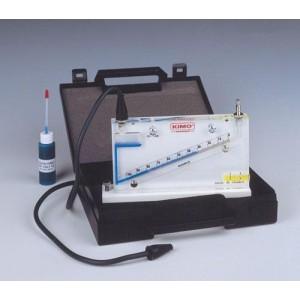Nagnjen tekočinski Manometer MT serija