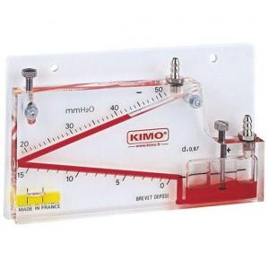 Nagnjen tekočinski Manometer VH serija
